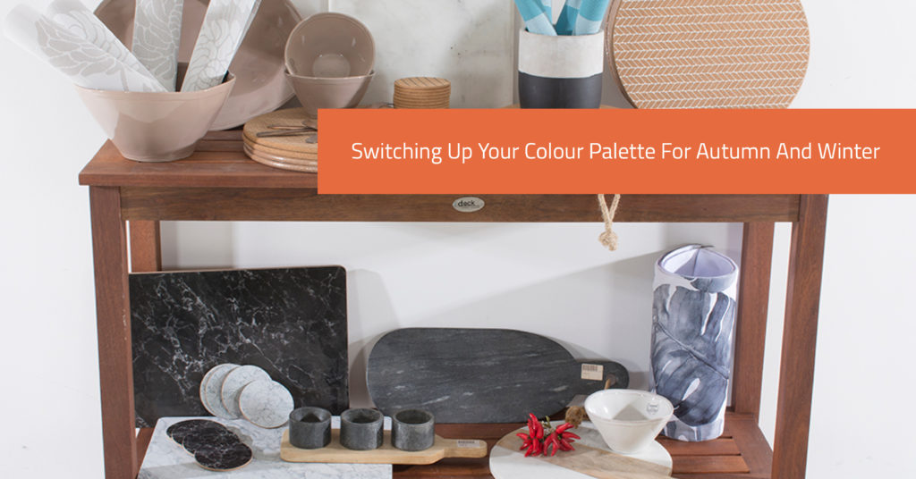 Switching Up Your Colour Palette For Autumn And Winter