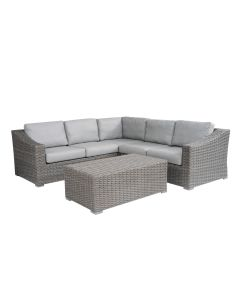 LECCO OUTDOOR MOD 5 SEATER  MODULAR SETTING CHARCOAL