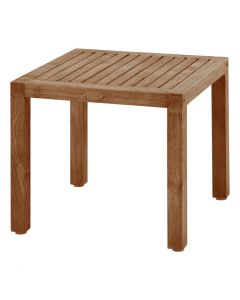 RICHMOND OUTDOOR TEAK SIDE TABLE NATURAL
