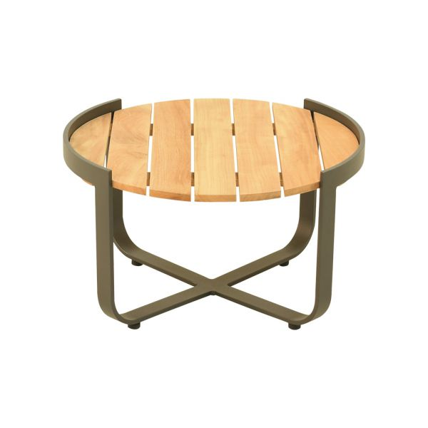 ATLANTA OUTDOOR TEAK COFFEE TABLE 60Dia. x 35.5cm