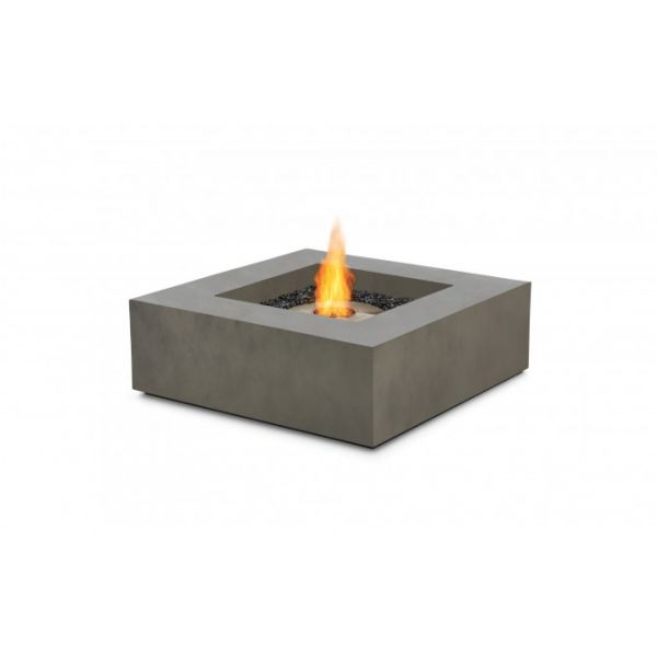 ECOSMART ETHANOL BASE FIREPIT NATURAL (CONCRETE COLOUR) 100 x 100 x 33.9CM