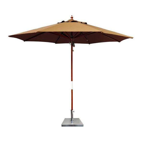 COMO UMBRELLA TIMBER 270CM CAMEL