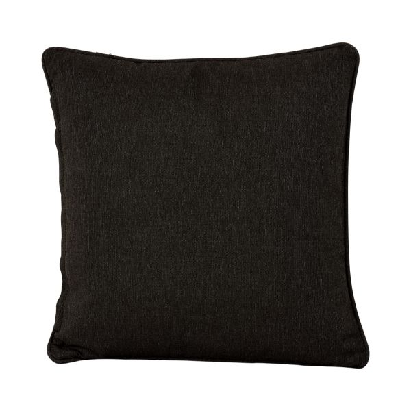 NEGRIL OUTDOOR CUSHION SCATTER WHITE BLACK 45 X 45CM