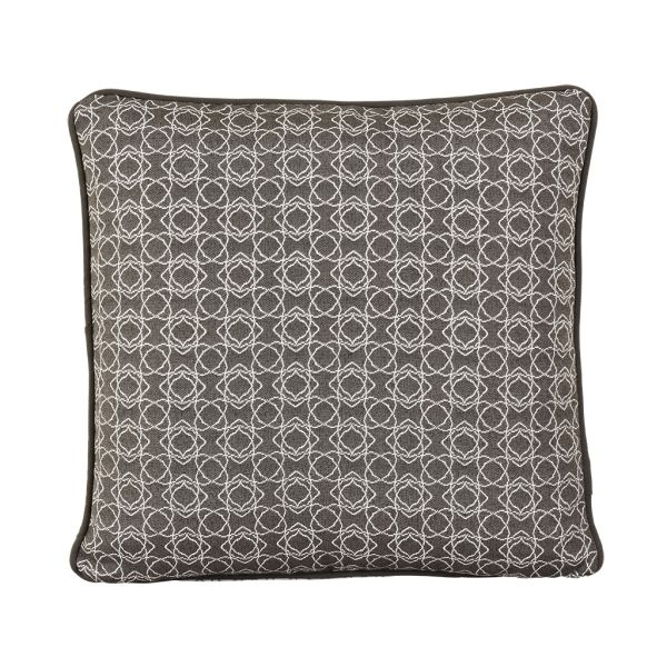 HARLEY OUTDOOR CUSHION SCATTER CHARCOAL 45 X 45CM