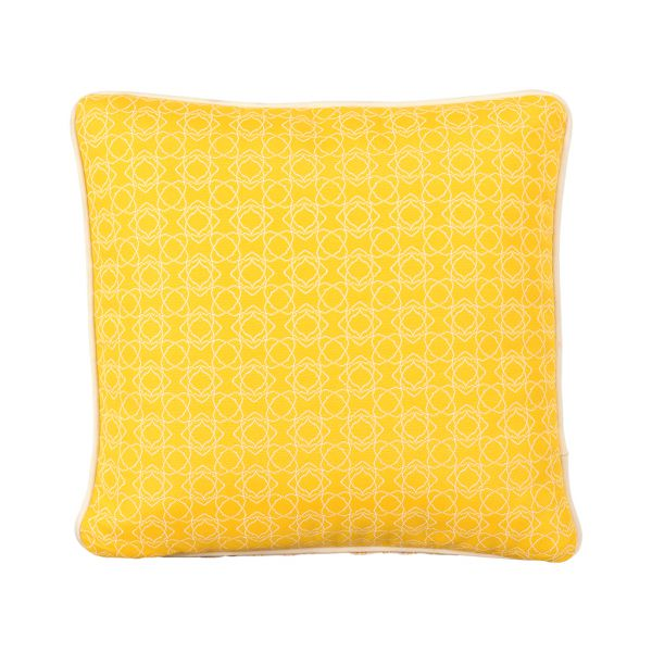 HARLEY OUTDOOR CUSHION SCATTER CITRON 45 X 45CM