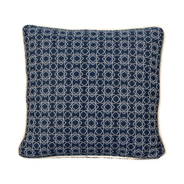 HARLEY OUTDOOR CUSHION SCATTER MIDNIGHT 45 X 45CM