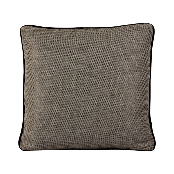 ST TROPEZ OUTDOOR CUSHION SCATTER CHARCOAL 45 X 45CM