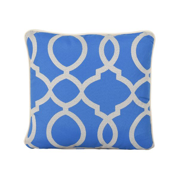 VANITY OUTDOOR CUSHION SCATTER AZURE 45 X 45CM