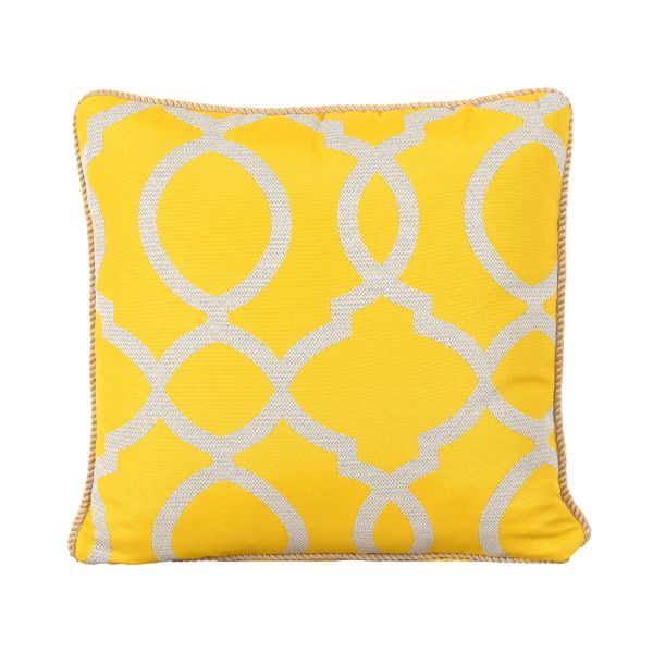 VANITY OUTDOOR CUSHION SCATTER CITRON 45 X 45CM