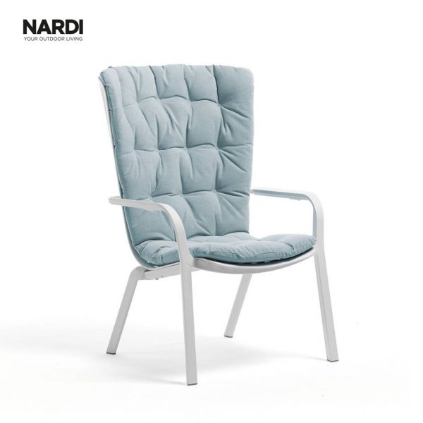 NARDI  FOLIO CUSHION LIGHT BLUE ( ARTIC)