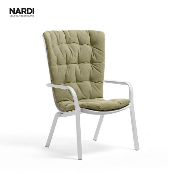 NARDI  FOLIO CUSHION GREEN