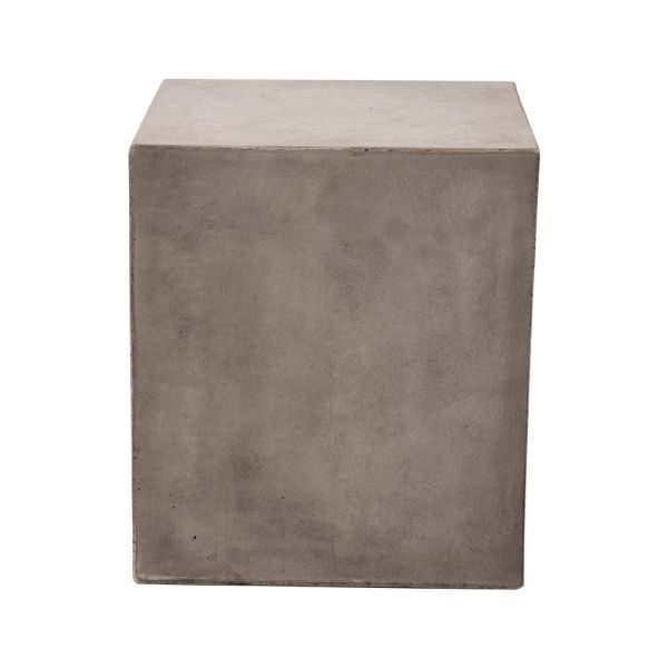 GFRC OUTDOOR CONCRETE STOOL 40 X 40 CM SQUARE