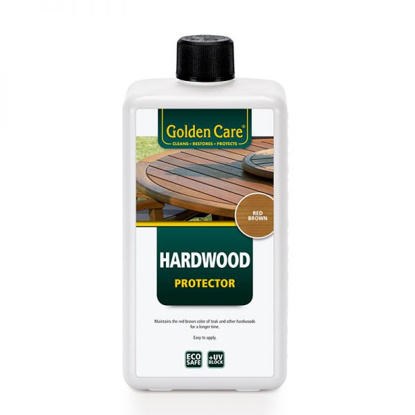 ACCESS HARDWOOD PROTECTOR DARK RED/BROWN 1 LITRE (MERBAU/KERUING)