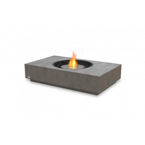 ECOSMART ETHANOL MARTINI FIREPIT NATURAL (CONCRETE COLOUR) 127 x 76.2 x 29.6CM