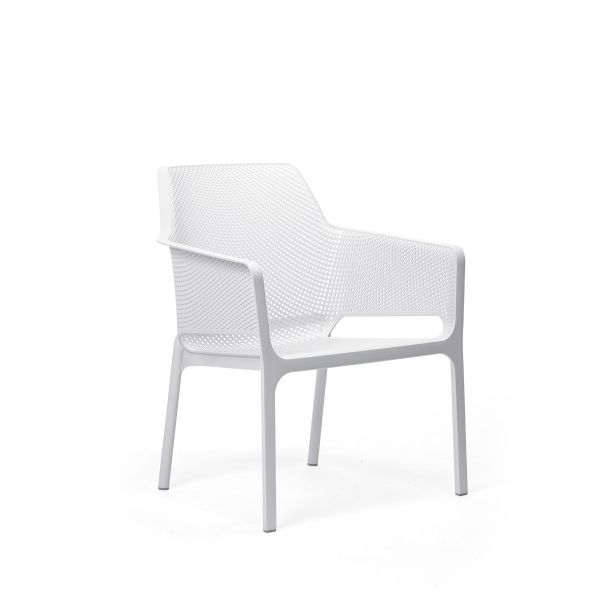 NARDI NET OUTDOOR RESIN RELAX CHAIR WHITE (BIANCO)