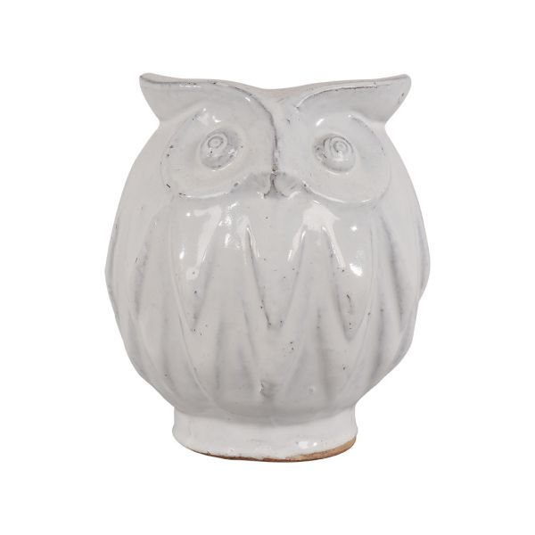 ACCESS OWL WHITE SMALL 25CM