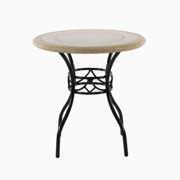 POSITANO OUTDOOR DINING TABLE 75CM ROUND