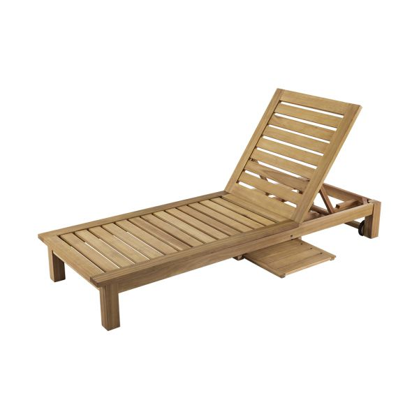 PRESTIGE OUTDOOR KARRI SUNLOUNGER TRAY & NO ARMS