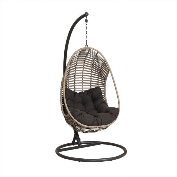 TURIN HANGING CHAIR LIGHT GREY